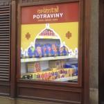 Samolepky výloha Praha 5