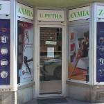 Polep výloh - lékárna Brno